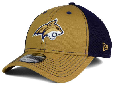 Montana State Bobcats NCAA Team Front Neo 39THIRTY Cap Hats