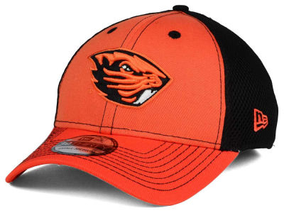 Oregon State Beavers NCAA Team Front Neo 39THIRTY Cap Hats
