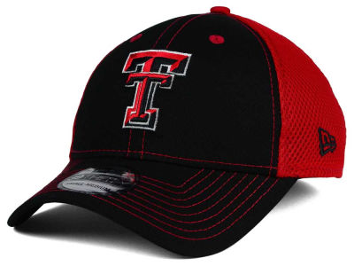 Texas Tech Red Raiders NCAA Team Front Neo 39THIRTY Cap Hats