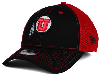 Utah Utes NCAA Team Front Neo 39THIRTY Cap Hats
