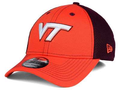 Virginia Tech Hokies NCAA Team Front Neo 39THIRTY Cap Hats