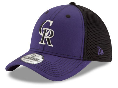 Colorado Rockies MLB Team Front Neo 39THIRTY Cap Hats