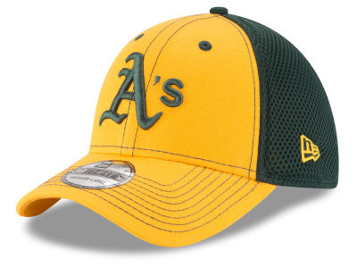 Oakland Athletics MLB Team Front Neo 39THIRTY Cap Hats