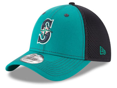 Seattle Mariners MLB Team Front Neo 39THIRTY Cap Hats