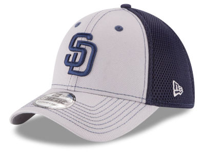 San Diego Padres MLB Team Front Neo 39THIRTY Cap Hats