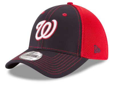 Washington Nationals MLB Team Front Neo 39THIRTY Cap Hats