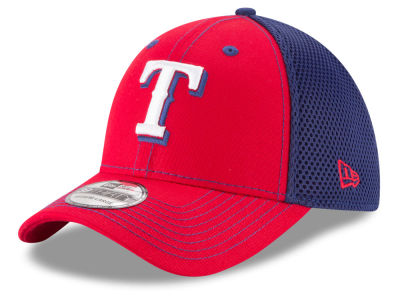 Texas Rangers MLB Team Front Neo 39THIRTY Cap Hats