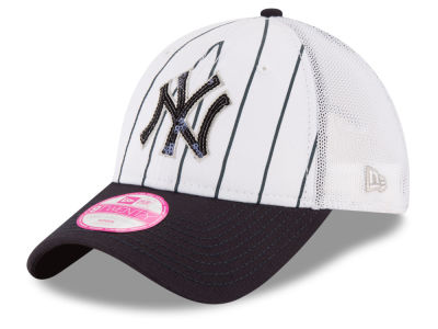 New York Yankees MLB Women's Trucker Lust 9TWENTY Cap Hats