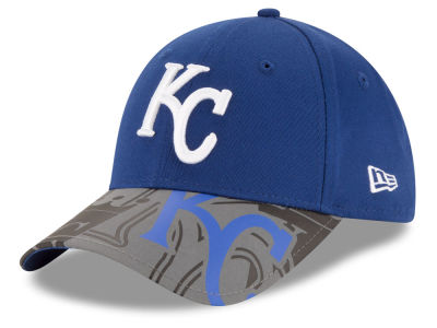 Kansas City Royals MLB Youth Reflect Fuse 9FORTY Cap Hats