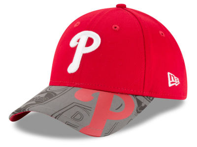 Philadelphia Phillies MLB Youth Reflect Fuse 9FORTY Cap Hats