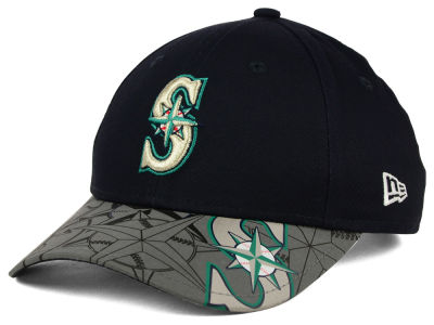 Seattle Mariners MLB Youth Reflect Fuse 9FORTY Cap Hats