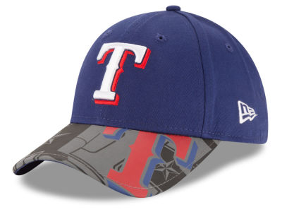 Texas Rangers MLB Youth Reflect Fuse 9FORTY Cap Hats