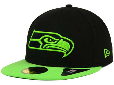 Seattle Seahawks NFL Colors 59FIFTY Cap Hats