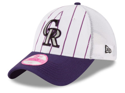 Colorado Rockies MLB Women's Trucker Lust 9TWENTY Cap Hats