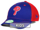 Philadelphia Phillies New Era MLB Jr Team Front Neo 39THIRTY Cap Stretch Fitted Hats