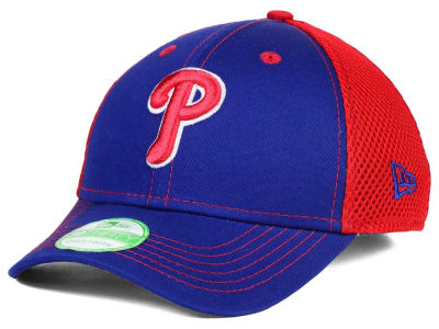 Philadelphia Phillies MLB Jr Team Front Neo 39THIRTY Cap Hats