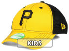 Pittsburgh Pirates New Era MLB Jr Team Front Neo 39THIRTY Cap Stretch Fitted Hats