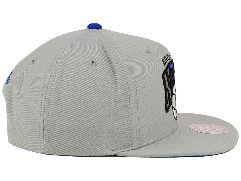 half off a72f6 62a0c Brooklyn Nets Mitchell and Ness NBA Reflective Tri Pop Snapback Cap  high-quality