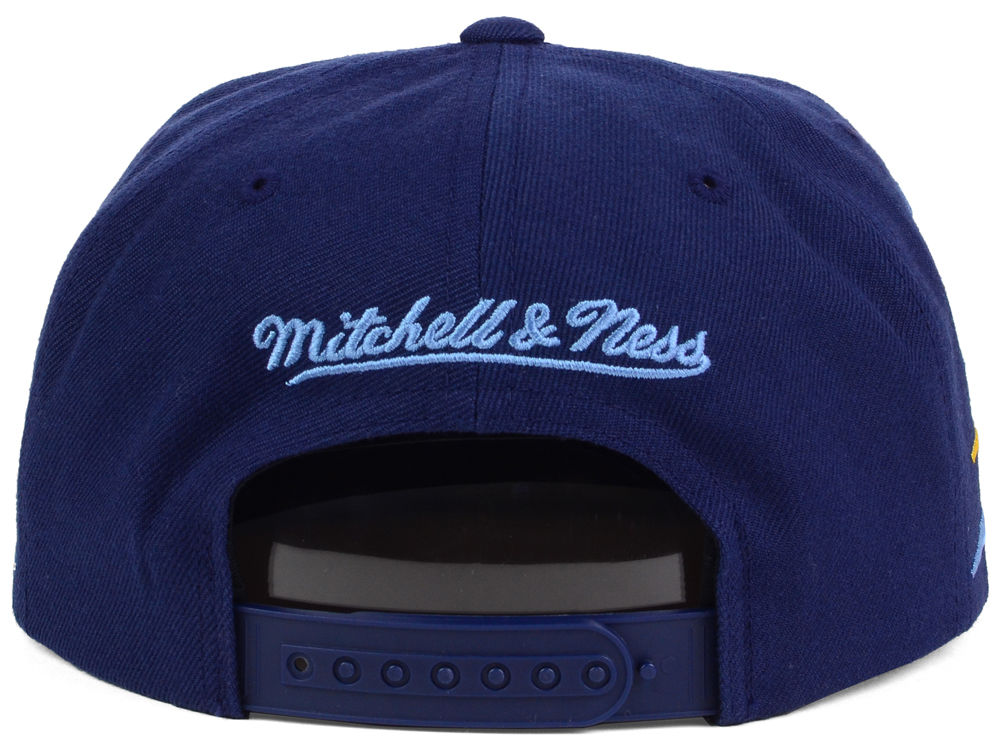 reputable site fc20e 088be ... germany memphis grizzlies mitchell and ness nba solid diamond snapback  cap 50off.