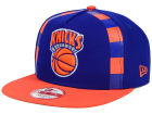 New York Knicks New Era NBA Logo Mural Snap 9FIFTY Cap Adjustable Hats