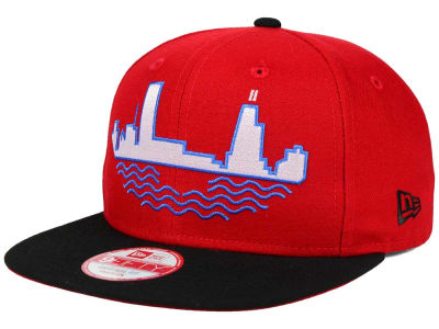 Chicago Bulls NBA HWC Team Oversizer 9FIFTY Snapback Cap Hats