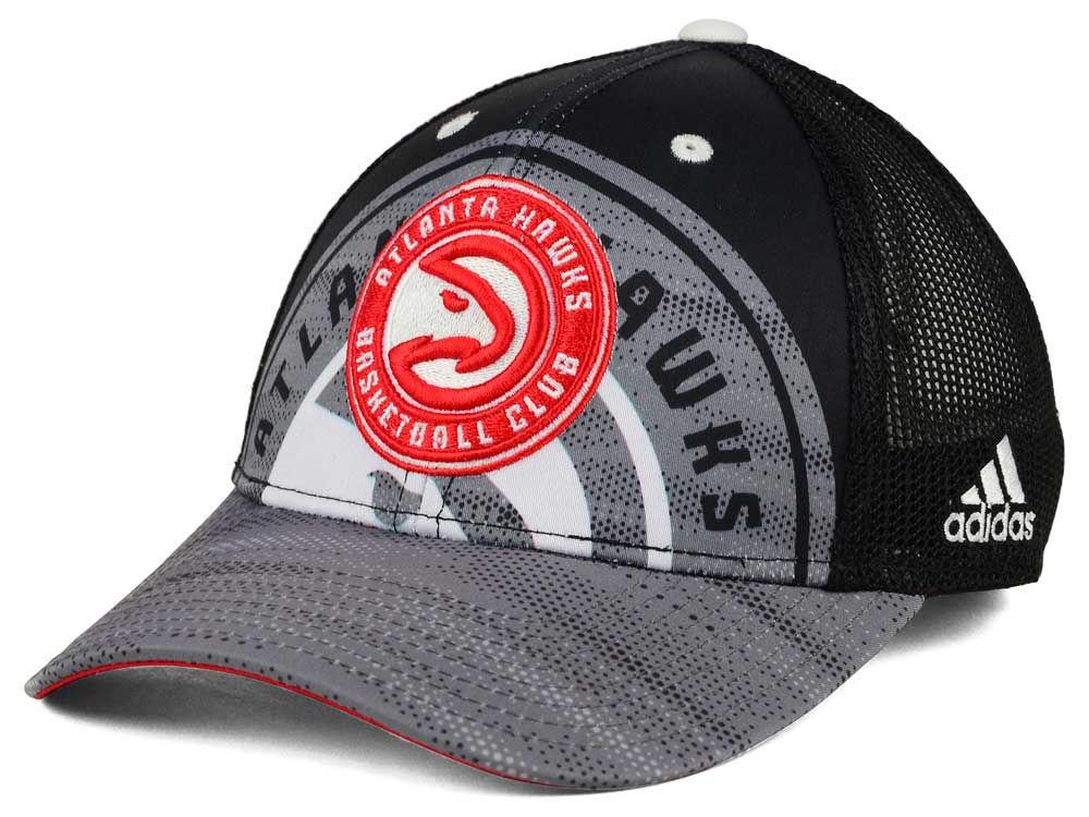 timeless design a425b 6c776 30%OFF Atlanta Hawks adidas NBA Shadow Trucker Cap