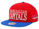 Washington Capitals Mitchell and Ness NHL Top Shelf Snapback Cap Adjustable Hats