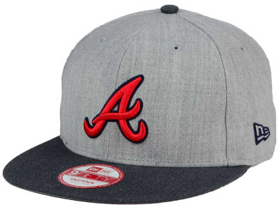 Atlanta Braves MLB Heather Action 9FIFTY Snapback Cap Hats