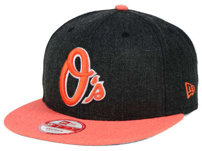 Baltimore Orioles MLB Heather Action 9FIFTY Snapback Cap Hats