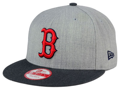 Boston Red Sox MLB Heather Action 9FIFTY Snapback Cap Hats