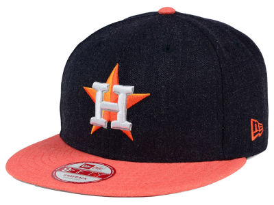 Houston Astros MLB Heather Action 9FIFTY Snapback Cap Hats