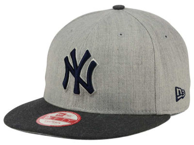 New York Yankees MLB Heather Action 9FIFTY Snapback Cap Hats