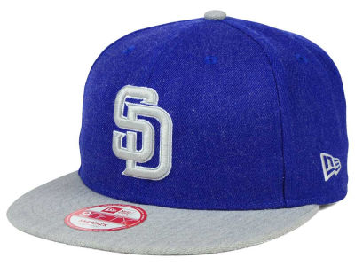 San Diego Padres MLB Heather Action 9FIFTY Snapback Cap Hats
