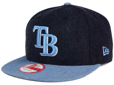 Tampa Bay Rays MLB Heather Action 9FIFTY Snapback Cap Hats