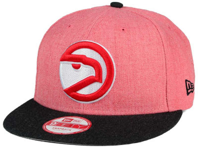 Atlanta Hawks NBA HWC Heather Action 9FIFTY Snapback Cap Hats