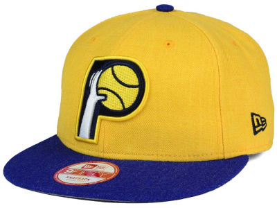Indiana Pacers NBA HWC Heather Action 9FIFTY Snapback Cap Hats