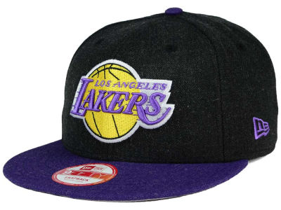 Los Angeles Lakers NBA HWC Heather Action 9FIFTY Snapback Cap Hats