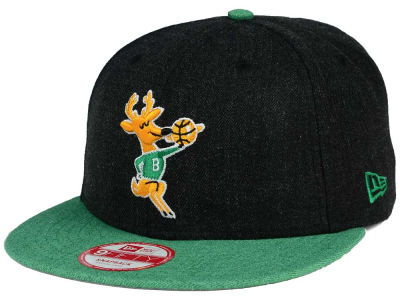 Milwaukee Bucks NBA HWC Heather Action 9FIFTY Snapback Cap Hats