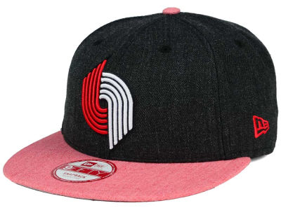 Portland Trail Blazers NBA HWC Heather Action 9FIFTY Snapback Cap Hats