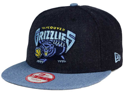 Vancouver Grizzlies NBA HWC Heather Action 9FIFTY Snapback Cap Hats