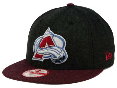 Colorado Avalanche NHL Heather Action 9FIFTY Snapback Cap Hats