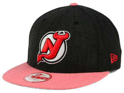New Jersey Devils NHL Heather Action 9FIFTY Snapback Cap Hats