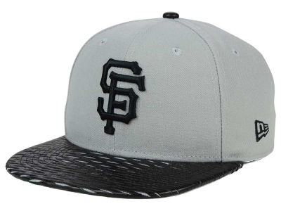 San Francisco Giants MLB Leather RIP 9FIFTY Snapback Cap Hats