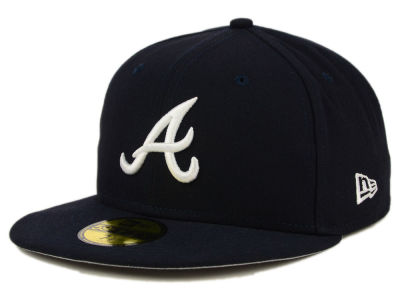 Atlanta Braves MLB Flag Stated 59FIFTY Cap Hats