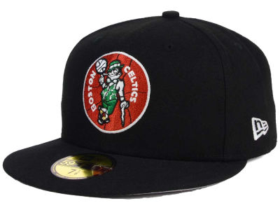 Boston Celtics NBA HWC Flag Stated 59FIFTY Cap Hats