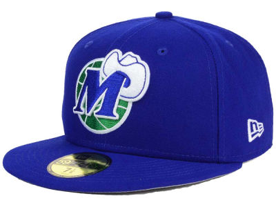 Dallas Mavericks NBA HWC Flag Stated 59FIFTY Cap Hats
