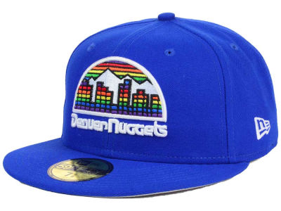 Denver Nuggets NBA HWC Flag Stated 59FIFTY Cap Hats
