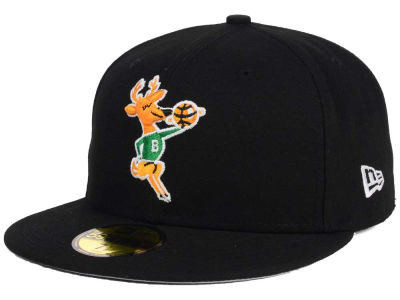 Milwaukee Bucks NBA HWC Flag Stated 59FIFTY Cap Hats