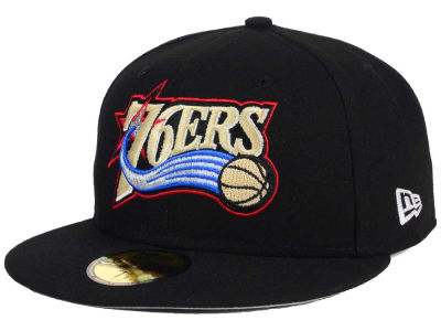 Philadelphia 76ers NBA HWC Flag Stated 59FIFTY Cap Hats