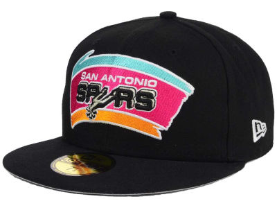 San Antonio Spurs NBA HWC Flag Stated 59FIFTY Cap Hats